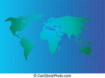 χάρτηs , πρότυπο , αφαιρώ , εικόνα , μικροβιοφορέας , κόσμοs