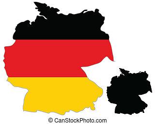 χάρτηs , σημαία , γερμανία