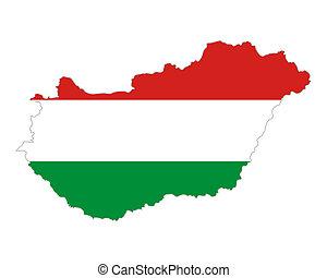 χάρτηs , σημαία , ουγγαρία