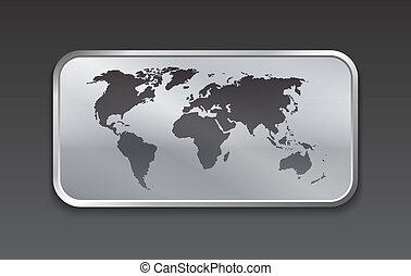χάρτηs , στοιχεία , ιστός , σφαίρα , μέταλλο , κόσμοs , ακουμπώ