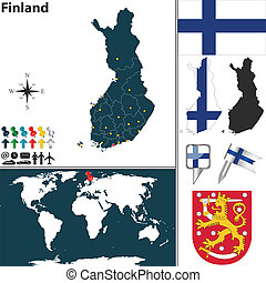 χάρτηs , φινλανδία