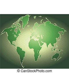 χάρτηs , 3d , δυναμικός , φόντο , κόσμοs