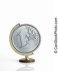 χάρτηs , ??as, γινώμενος , σφαίρα , κέρματα , γη , euro