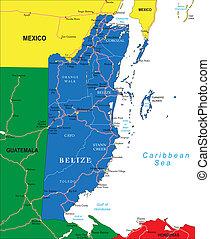 χάρτηs , belize