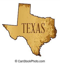 χάρτηs , texas , περγαμηνή , φόντο