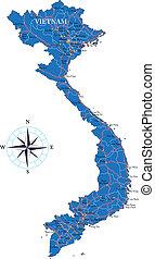 χάρτηs , vietnam