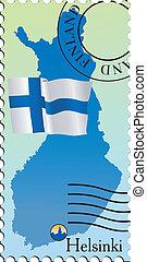 χέλσινκι , - , κεφάλαιο , από , φινλανδία