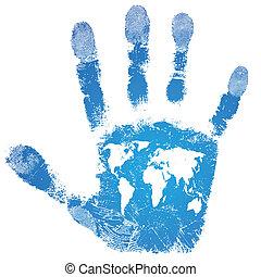χέρι , ανθρώπινη ζωή και πείρα αντιστοιχίζω , τυπώνω