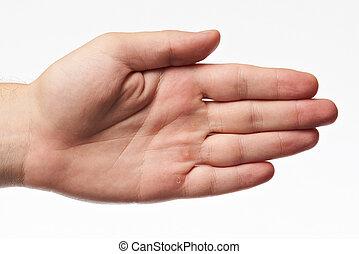 χέρι , γυναίκα , νέος
