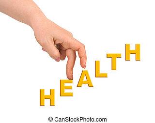 χέρι , και , σκάλεs , υγεία