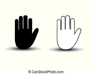 χέρι , μικροβιοφορέας , εικόνα , απεικόνιση