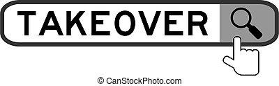 χέρι , σημαία , άσπρο , μεγεθυντής , εικόνα , φόντο , λέξη , ανάληψη , πάνω , ψάχνω