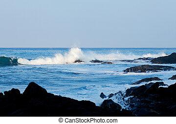 χαβάη , ακτή