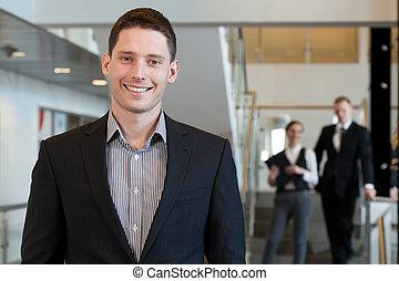 χαμογελαστά , επιχειρηματίας