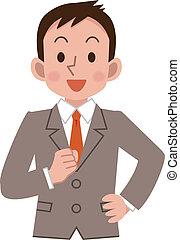 χαμόγελο , businessmen