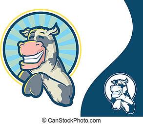 χαρακτήρας , αγελάδα , γουρλίτικο ζώο