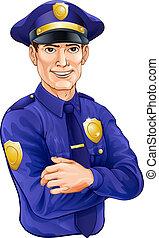 χαρακτήρας , αστυνομικόs