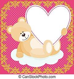 χαριτωμένος , αρκουδάκι