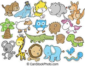 χαριτωμένος , ζώο , διάταξη κύριο εξάρτημα , μικροβιοφορέας