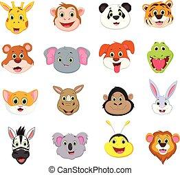 χαριτωμένος , συλλογή , ζεσεεδ , εικόνα , ζώο , γελοιογραφία