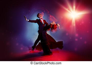 χαριτωμένος , χορευτές , ταγκό