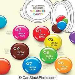 χαριτωμένος , 3d , μικροβιοφορέας , αφαιρώ , γλύκισμα , infographic, στοιχεία