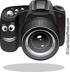 χαριτωμένος , dslr, γελοιογραφία , φωτογραφηκή μηχανή , ψηφιακός , ή