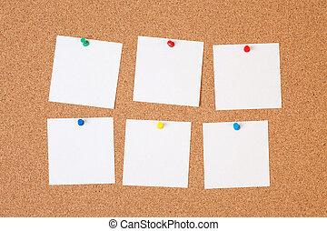 χαρτί , από φελλό ταμπλώ , βλέπω
