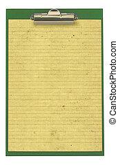 χαρτί , αόρ. του stick , αμυντική γραμμή , clipboard , κομμάτι