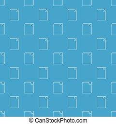 χαρτί , πρότυπο , μικροβιοφορέας , μπλε , seamless