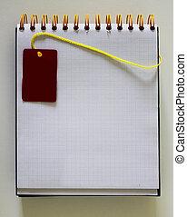 χαρτί , σημειωματάριο