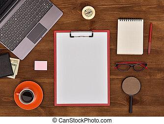χαρτί , clipboard , κενό