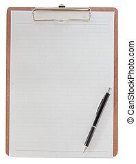χαρτί , clipboard