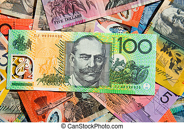 χαρτονομίσματα , αυστραλός