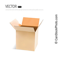 χαρτόνι , box., μικροβιοφορέας , illustration.