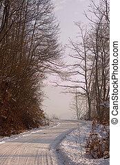 χειμώναs , δρόμοs