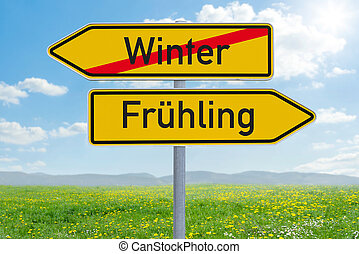 χειμώναs , δυο , άνοιξη , - , ή , αναχωρώ , κατεύθυνση , ...