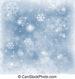 χειμώναs , φόντο , νιφάδα , και , ακτινοβολία , copyspace