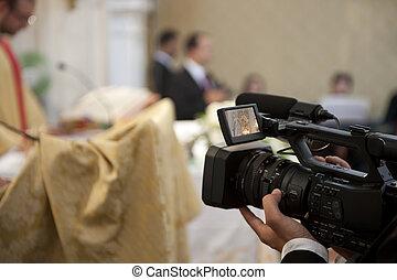 χειριστής κάμερας , γάμοs
