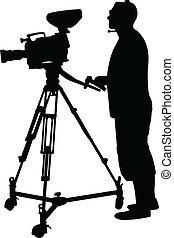 χειριστής κάμερας , περίγραμμα