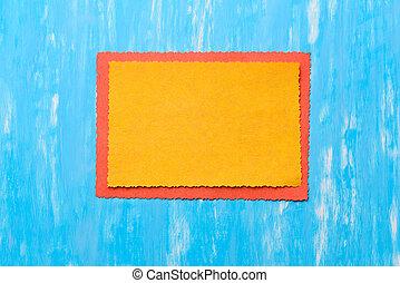 χειροποίητος , κάρτα , semi-fromal