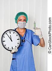 χειρουργικός , νοσοκόμα