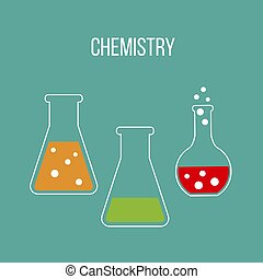 χημεία , επιστήμη , και , μόρφωση , γενική ιδέα