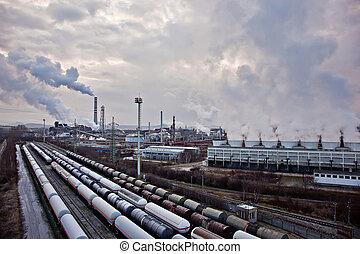 χημικά πετρελαίου , βιομηχανικός , κόμπλεξ