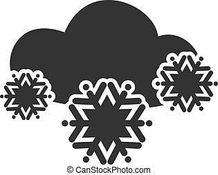 χιόνι , σύνεφο , εικόνα