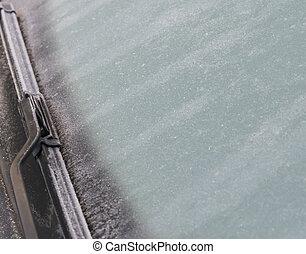 χιόνι , χειμώναs , διάστημα , διάλεξα , παγωμένος , γενική ιδέα , traffic., φωτογραφία , καθαριστής , winter., κλείνω , αυτοκίνητο , παρμπρίζ , πάνω , πάγοs , κίνδυνος , αντίγραφο , εστία