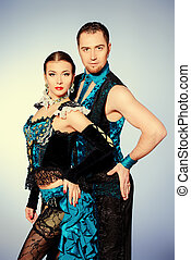 χορευτές , ταγκό