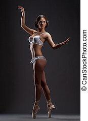 χορευτής , μπαλέτο εργαστήρι καλιτέχνη , διατυπώνω , σύγχρονος , όμορφη