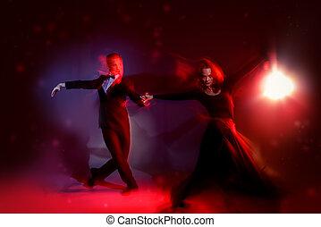 χορεύω , ελαφρείς , κόκκινο