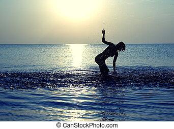 χορεύω , θάλασσα
